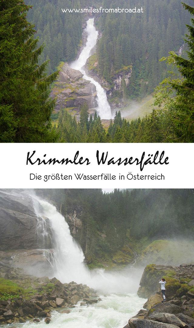 krimmler wasserfaelle pinterest2 - (Deutsch) Die Krimmler Wasserfälle - die höchsten Wasserfälle Österreichs