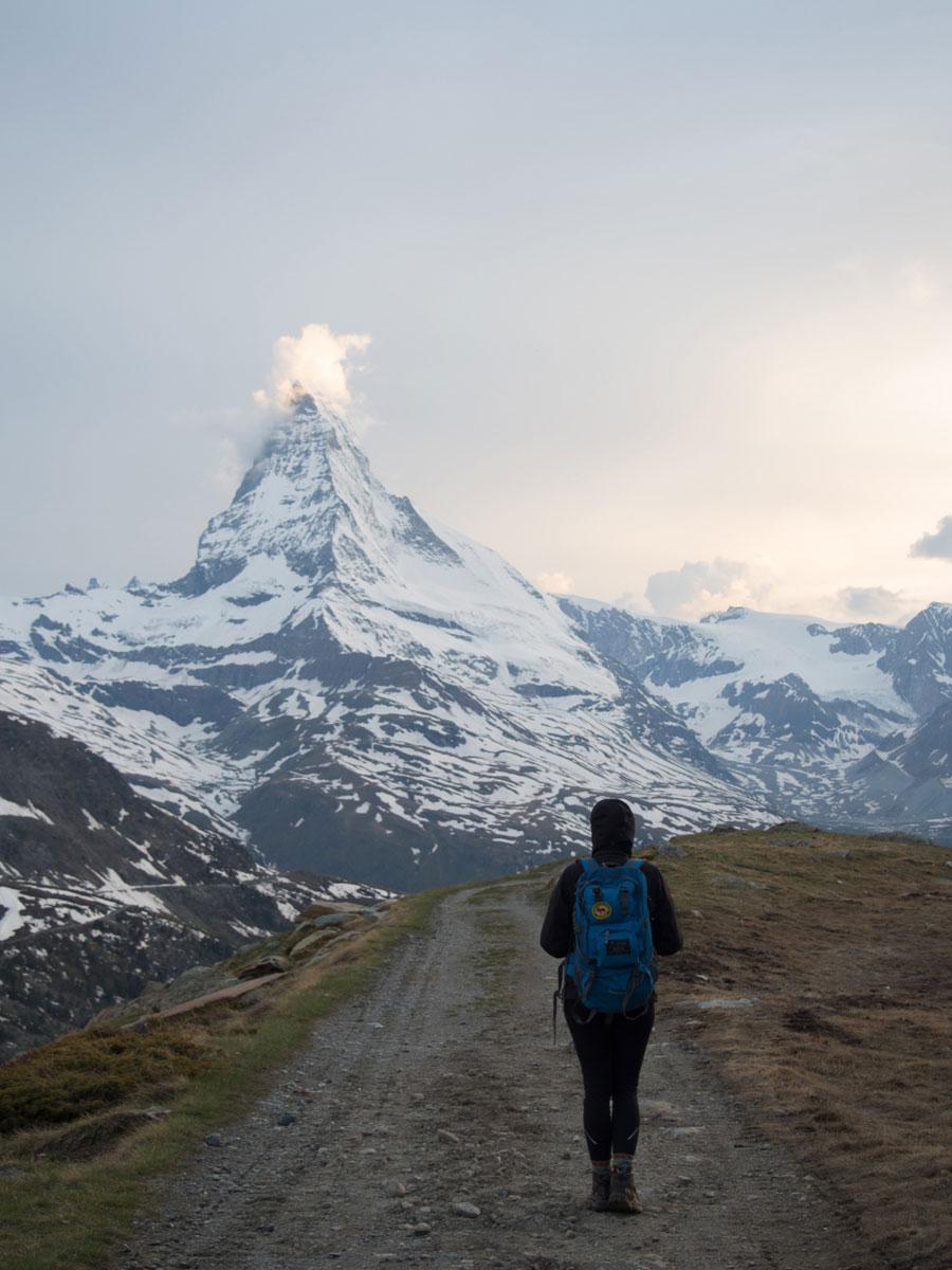 5seenwanderung zermatt schweiz 10 - 5 Seen Wanderung Zermatt - Stellisee, Grindjisee, Grünsee, Moosjiesee, Leisee