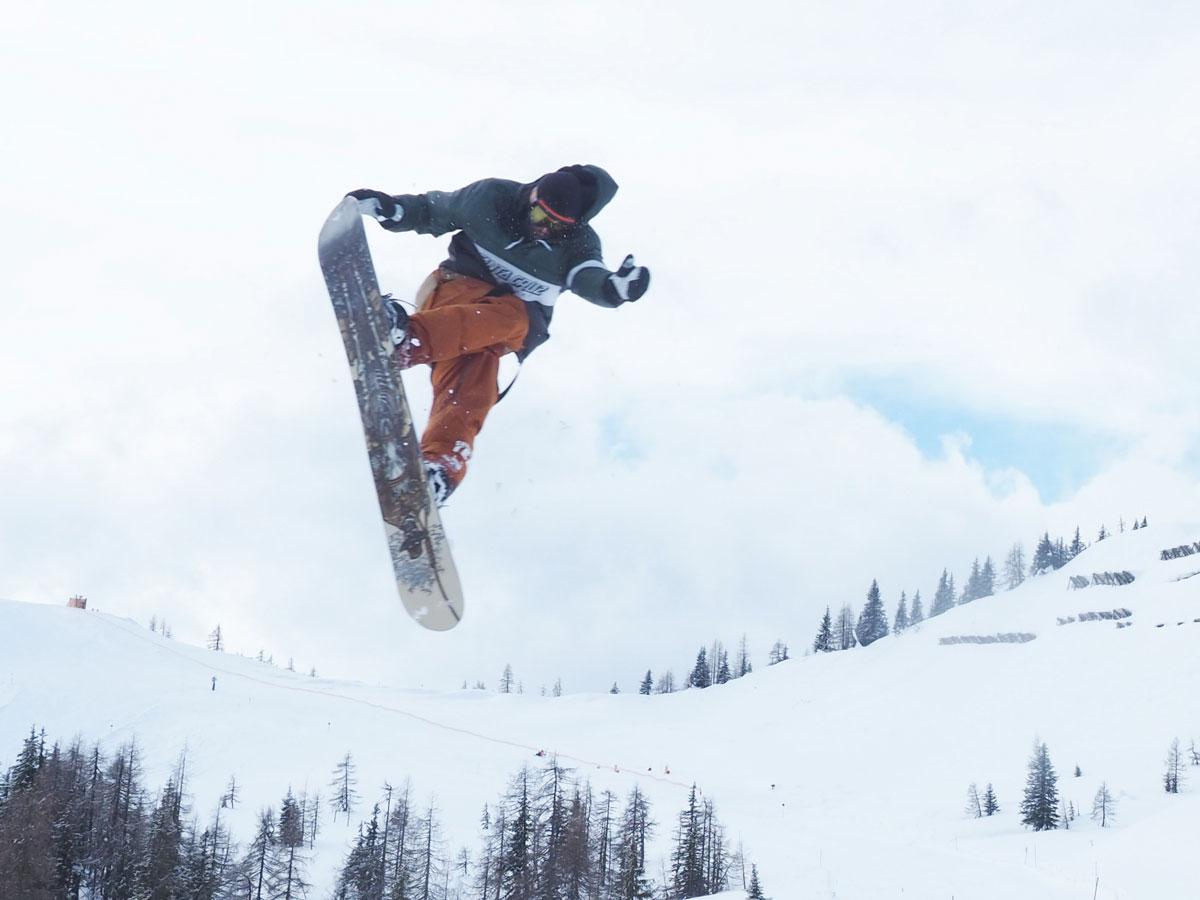 Absolut Park Salzburg Snowboard