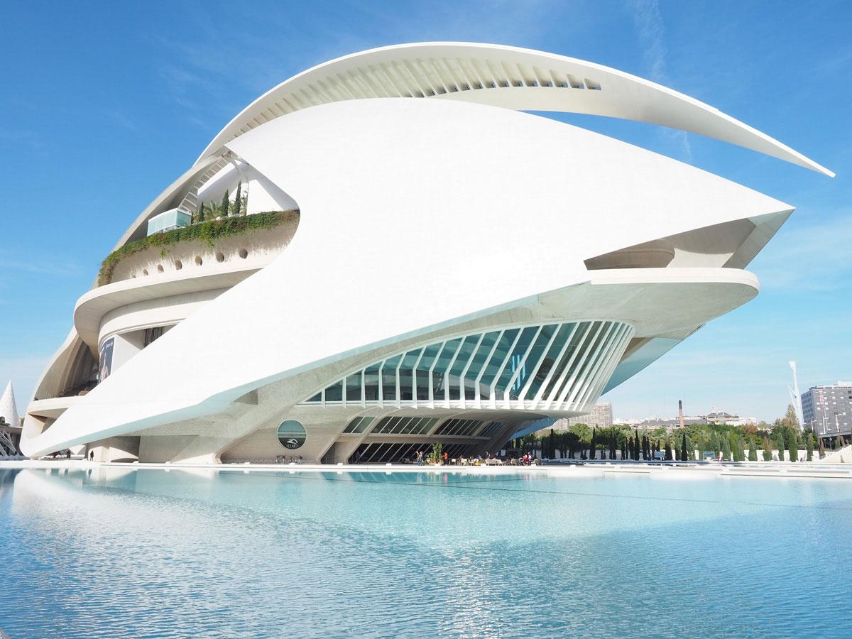 ciutat de les arts ciences valencia 10 1 - Valencia erkunden - Reiseplanung, Highlights, Ausflugstipps