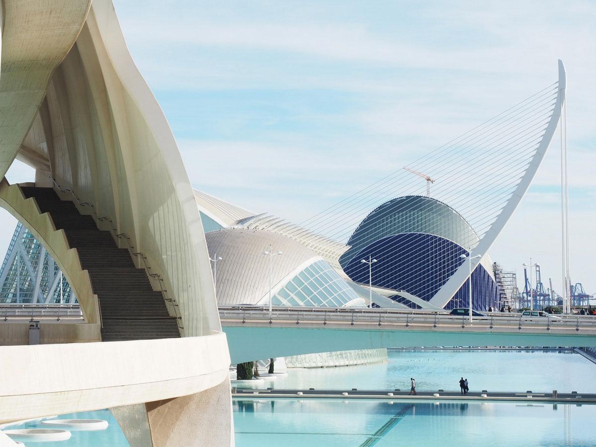 ciutat de les arts ciences valencia 15 - Valencia erkunden - Reiseplanung, Highlights, Ausflugstipps