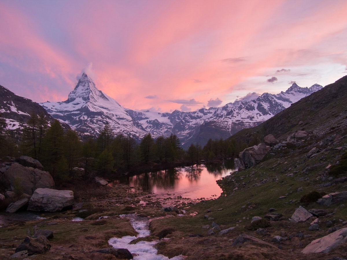 grindjisee zermatt schweiz 3 - 5 Seen Wanderung Zermatt - Stellisee, Grindjisee, Grünsee, Moosjiesee, Leisee