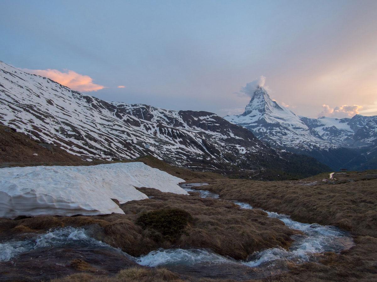 matterhorn zermatt schweiz 3 - 5 Seen Wanderung Zermatt - Stellisee, Grindjisee, Grünsee, Moosjiesee, Leisee