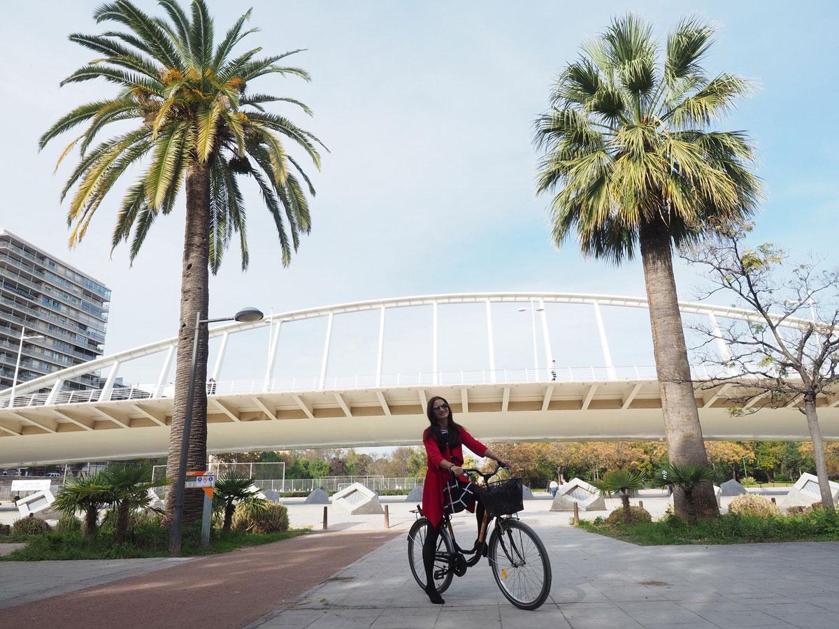 Valencia Spanien mit dem Rad Reisetipps