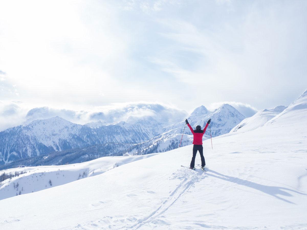 Schifahren in der Salzburger Sportwelt