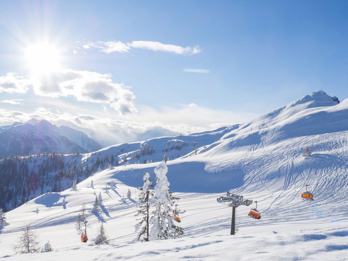 Schifahren in Flachau