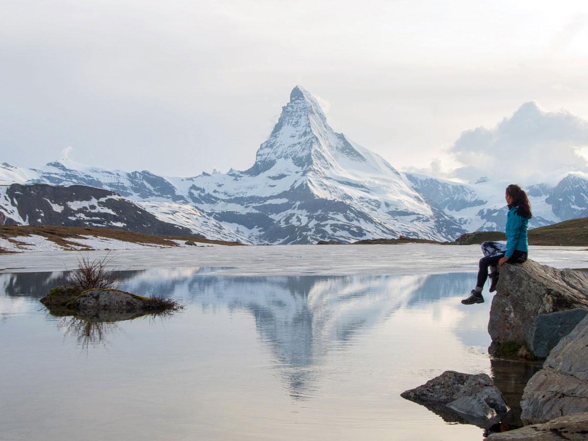 stellisee zermatt schweiz 2 - 5 Seen Wanderung Zermatt - Stellisee, Grindjisee, Grünsee, Moosjiesee, Leisee