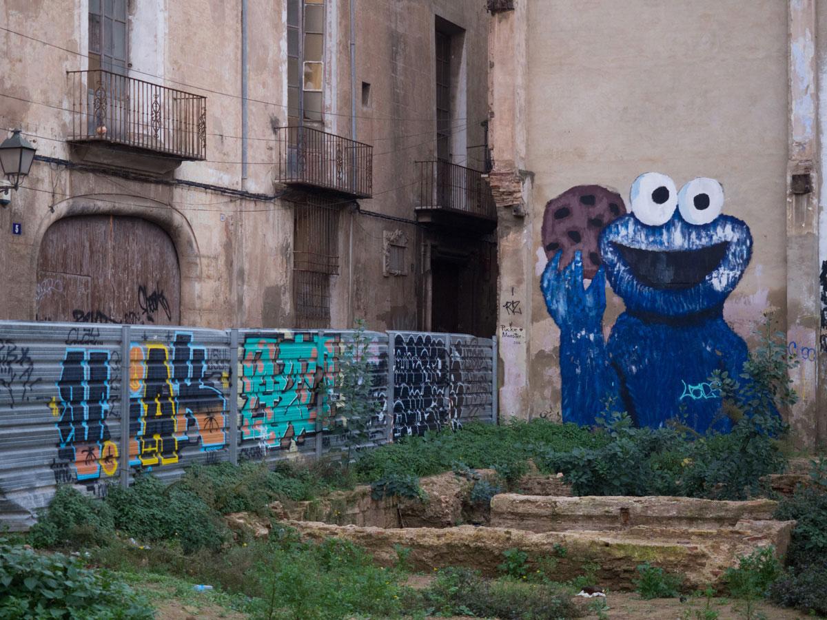 street art valencia 1 - Valencia erkunden - Reiseplanung, Highlights, Ausflugstipps