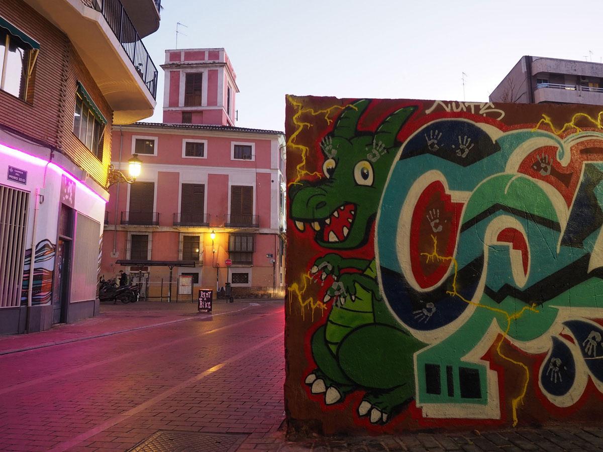 street art valencia 2 - Valencia erkunden - Reiseplanung, Highlights, Ausflugstipps