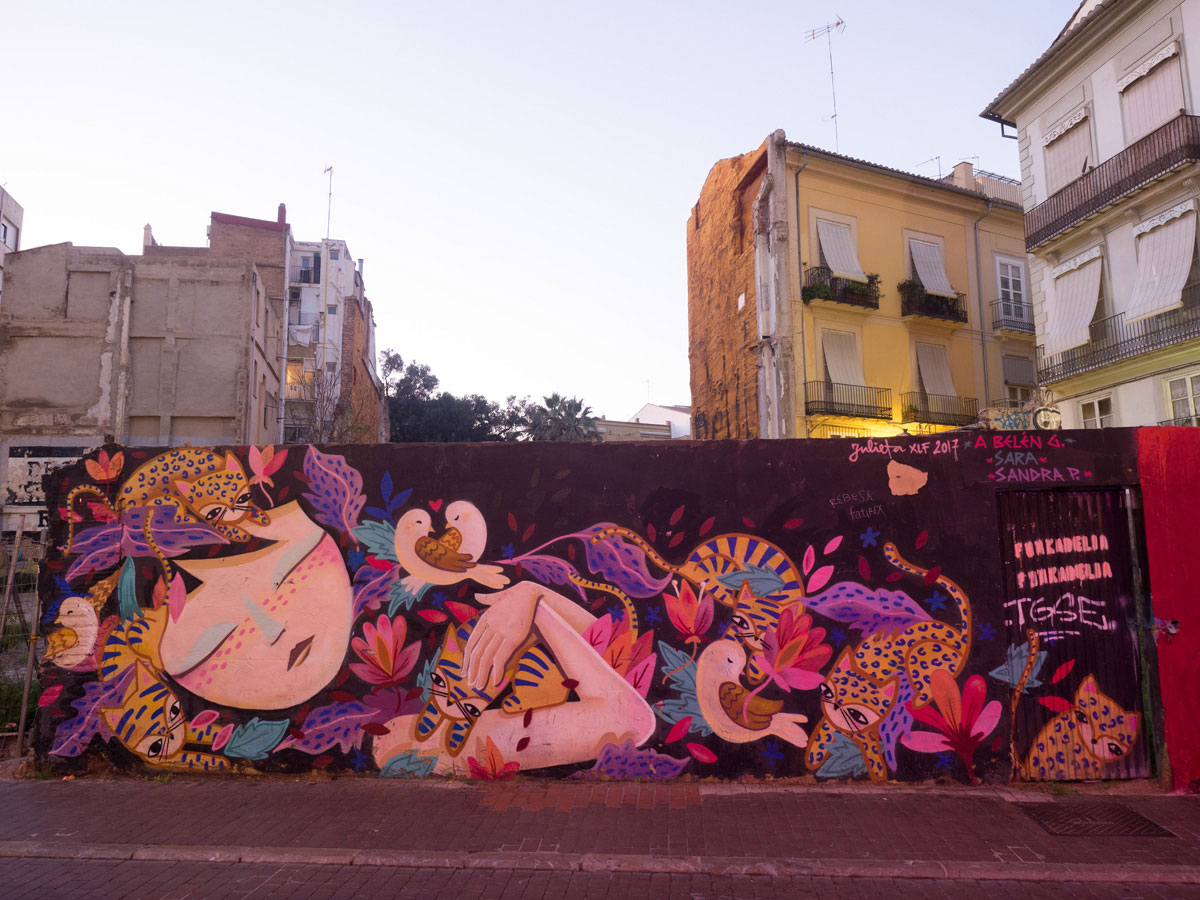street art valencia 3 - Valencia erkunden - Reiseplanung, Highlights, Ausflugstipps