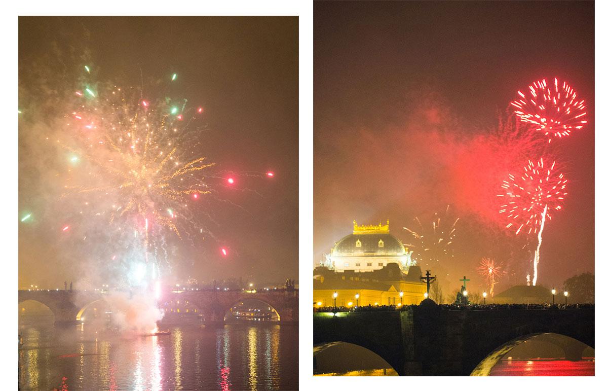 prag silvesterfeuerwerk - Silvesternacht und Weihnachtsmärkte in Prag