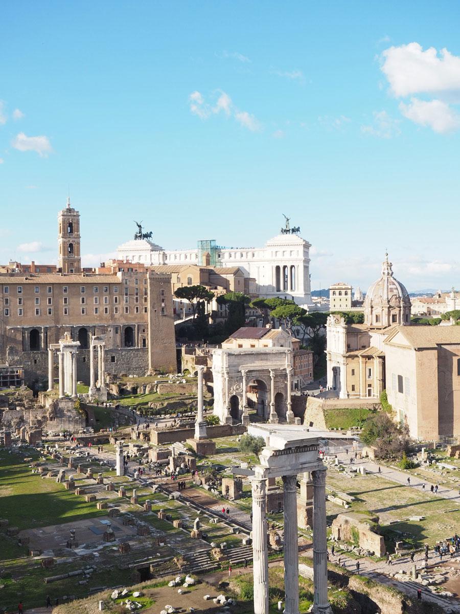 rom forum romanum 1 - Spaziergang durch Rom - Zu Fuß in Rom unterwegs - Sehenswertes und Reisetipps