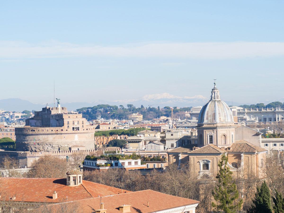 rom gianicolo huegel 1 - 6 Reisetipps, die deinen Rom Aufenthalt unvergesslich machen