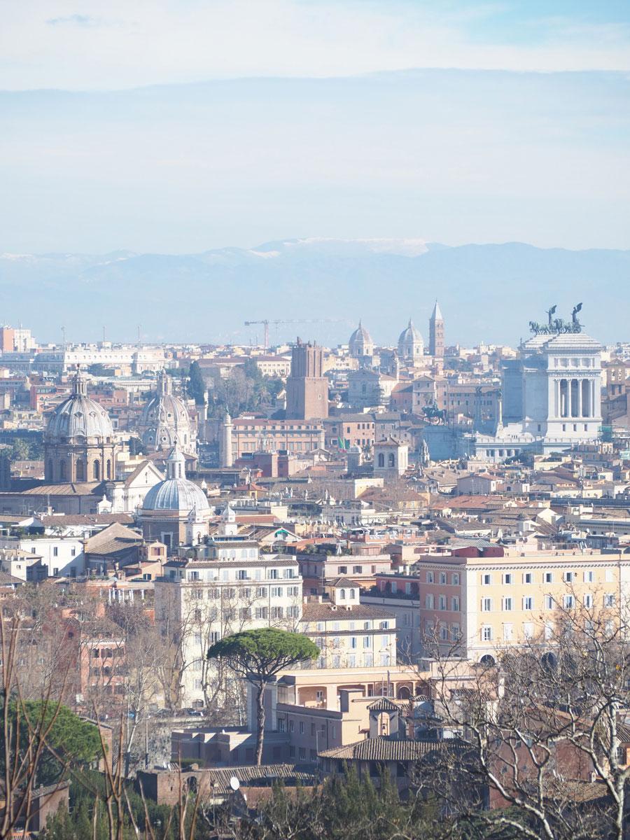 rom gianicolo huegel 4 - 6 Reisetipps, die deinen Rom Aufenthalt unvergesslich machen