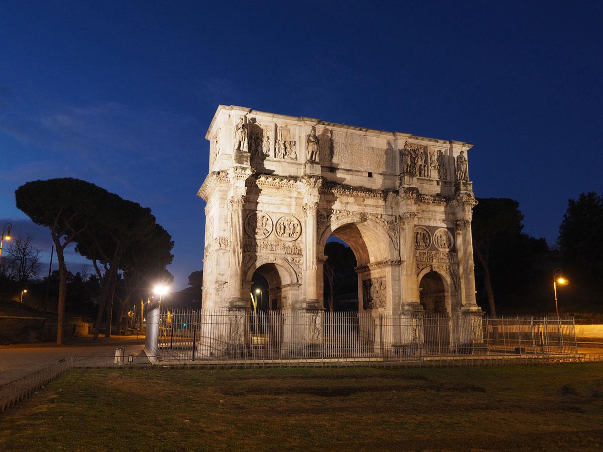 rom kolosseum sehenswertes 2 - Spaziergang durch Rom - Zu Fuß in Rom unterwegs - Sehenswertes und Reisetipps