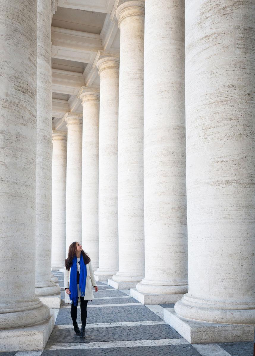 rom petersplatz 2 - Spaziergang durch Rom - Zu Fuß in Rom unterwegs - Sehenswertes und Reisetipps