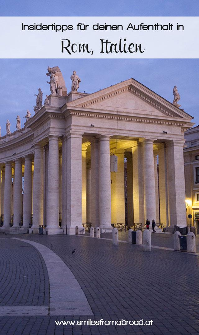 rom pinterest reisetipps2 - 6 Reisetipps, die deinen Rom Aufenthalt unvergesslich machen