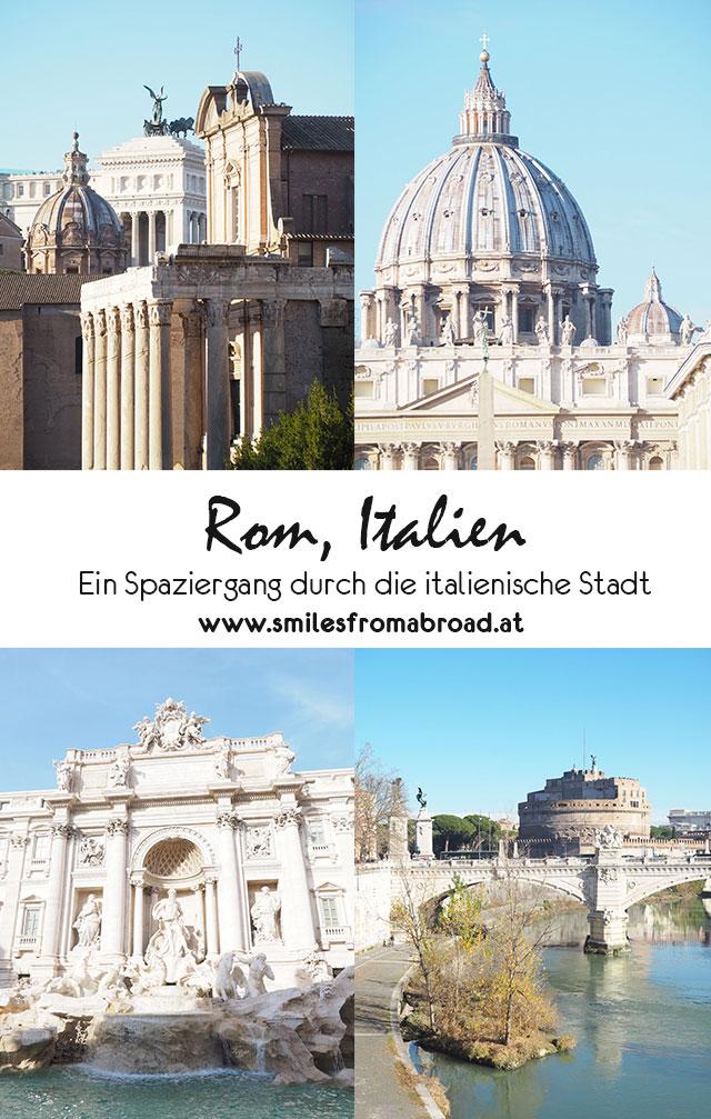 rom spaziergang pinterest2 - Spaziergang durch Rom - Zu Fuß in Rom unterwegs - Sehenswertes und Reisetipps
