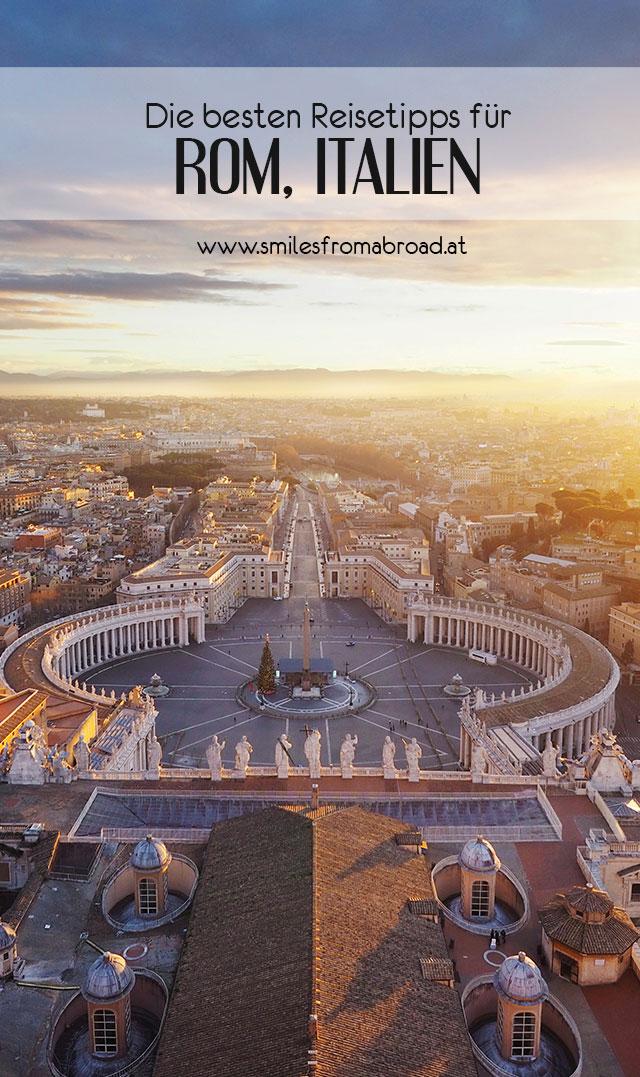 rom spaziergang pinterest3 - Spaziergang durch Rom - Zu Fuß in Rom unterwegs - Sehenswertes und Reisetipps
