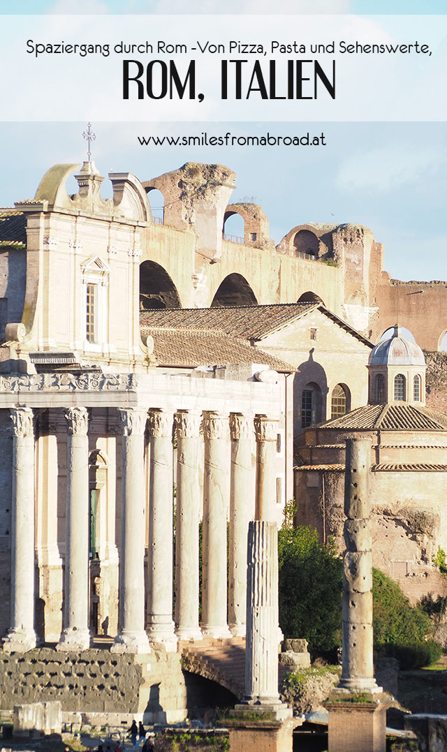 rom spaziergang pinterest4 - Spaziergang durch Rom - Zu Fuß in Rom unterwegs - Sehenswertes und Reisetipps