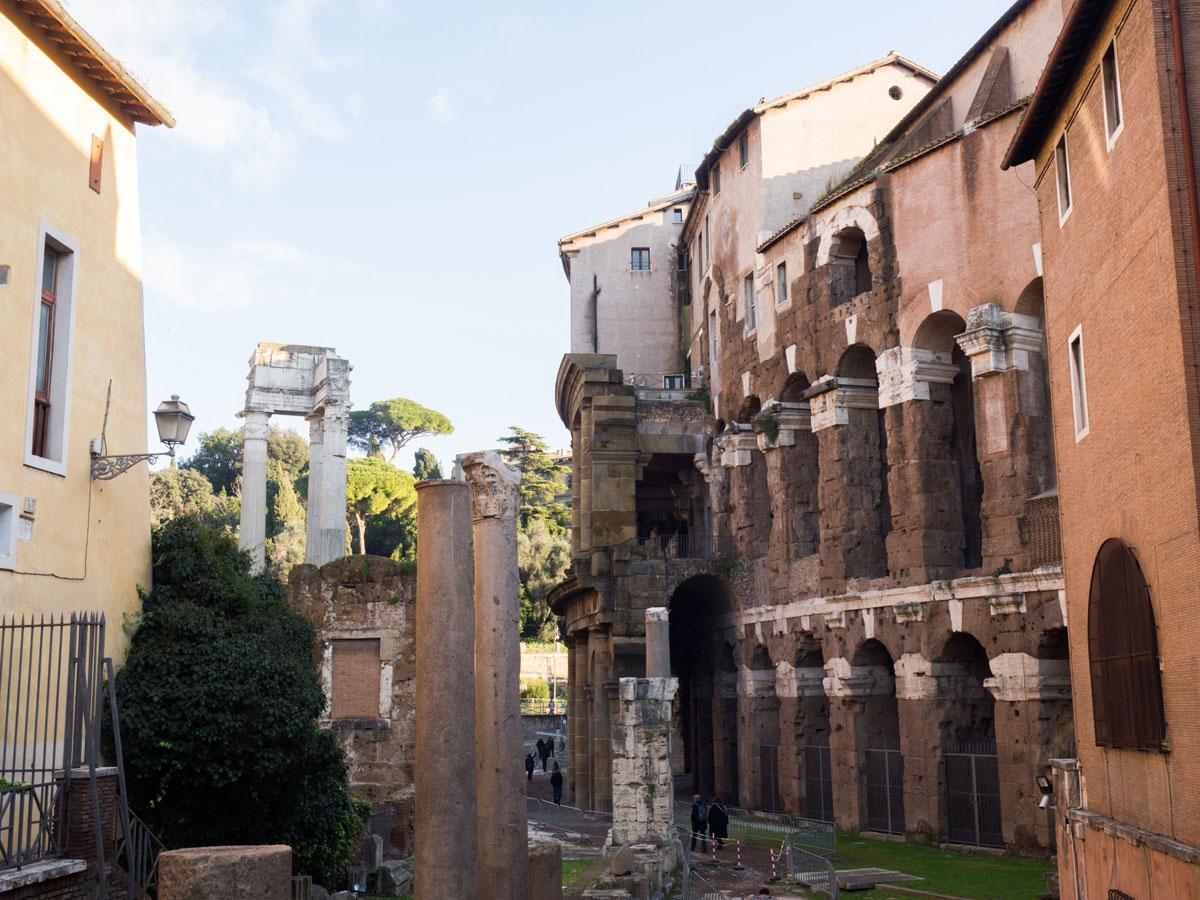 rom teatro marcello 3 - 6 Reisetipps, die deinen Rom Aufenthalt unvergesslich machen