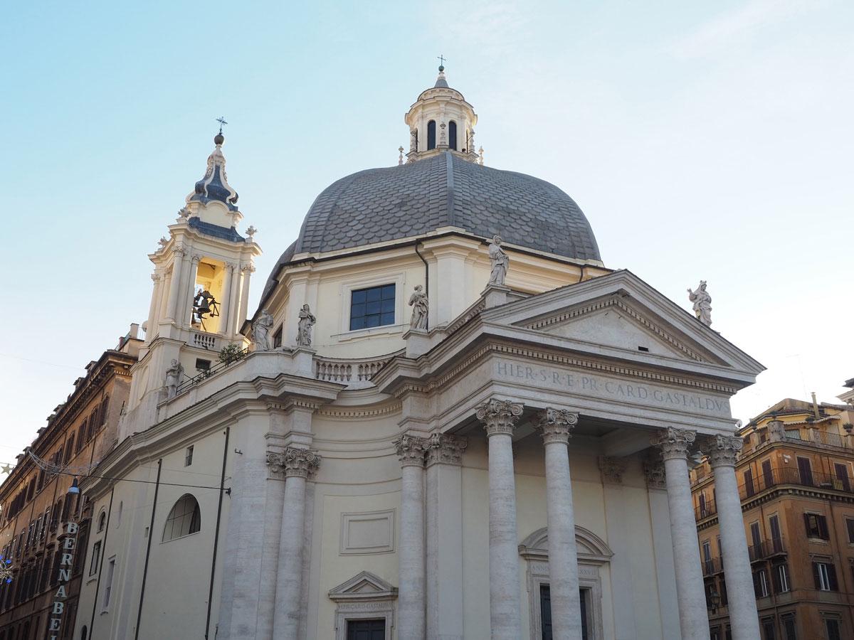 sehenswertes rom piazzadelpopolo spaziergang 1 - Spaziergang durch Rom - Zu Fuß in Rom unterwegs - Sehenswertes und Reisetipps