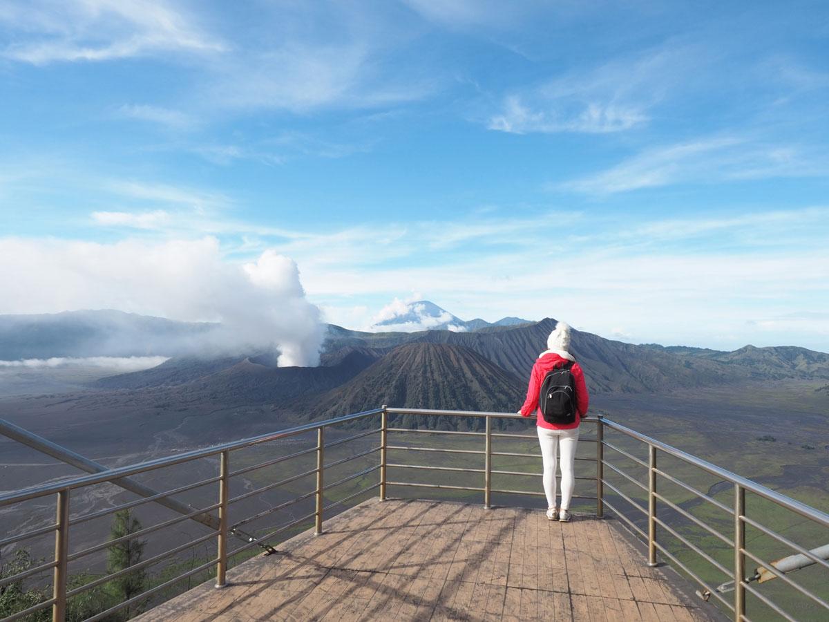 bromo java sonnenaufgang wandern selbst organisiert 36 - Sonnenaufgang und Sea of Sand beim Mt. Bromo - Wanderung auf eigene Faust