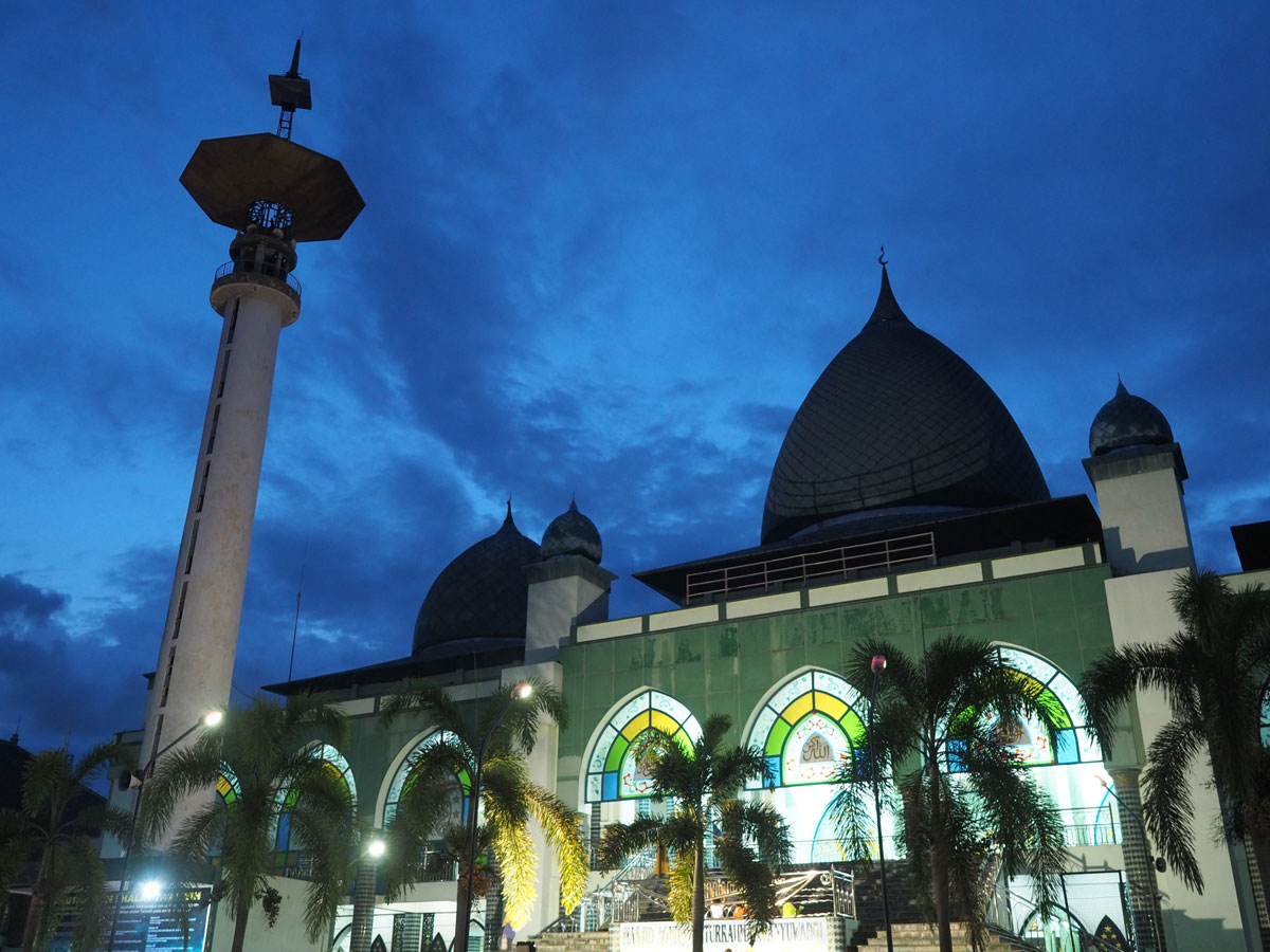 Moschee in Java Indonesien