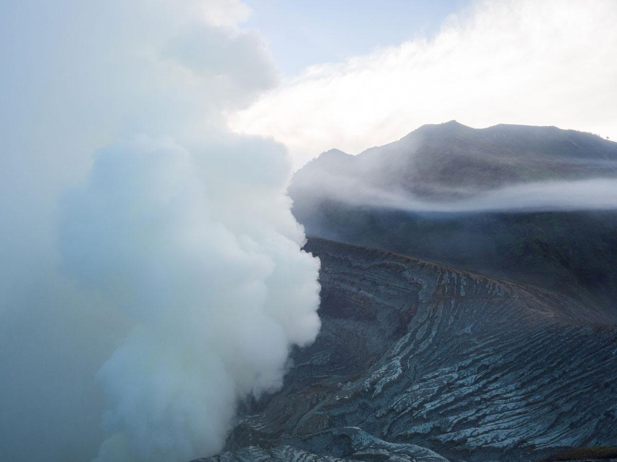 Vulkan auf Java Indonesien