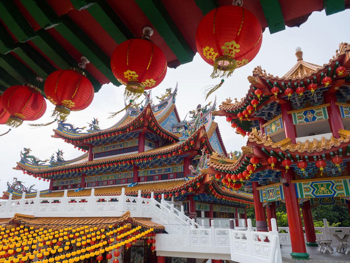 kuala lumpur malaysien thean hou temple 2 - Highlights für einen Stopover in Kuala Lumpur – Was ihr in 24 Stunden unbedingt sehen müsst