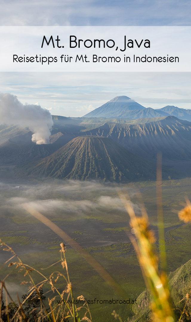 bromo reisetipps pinterest - Mt. Bromo auf Java auf eigene Faust erkunden - Tipps zu Anreise und Übernachtung