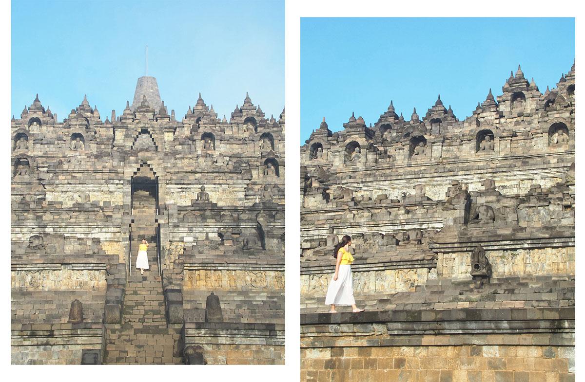 borobudur tempel java indonesien sonnenaufgang 2 - Borobodur Tempel in Java (Indonesien) zu Sonnenaufgang