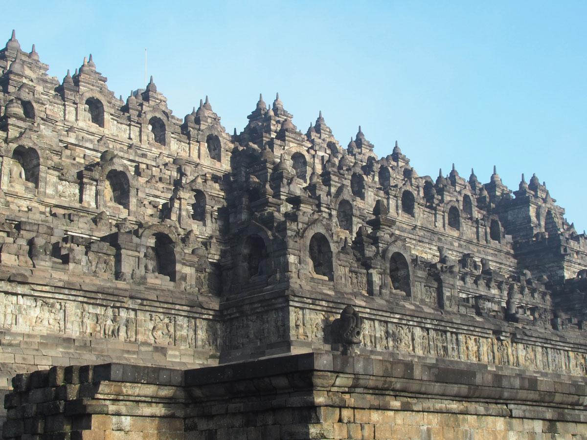 borobudur tempel java indonesien sonnenaufgang 20 - Borobodur Tempel in Java (Indonesien) zu Sonnenaufgang