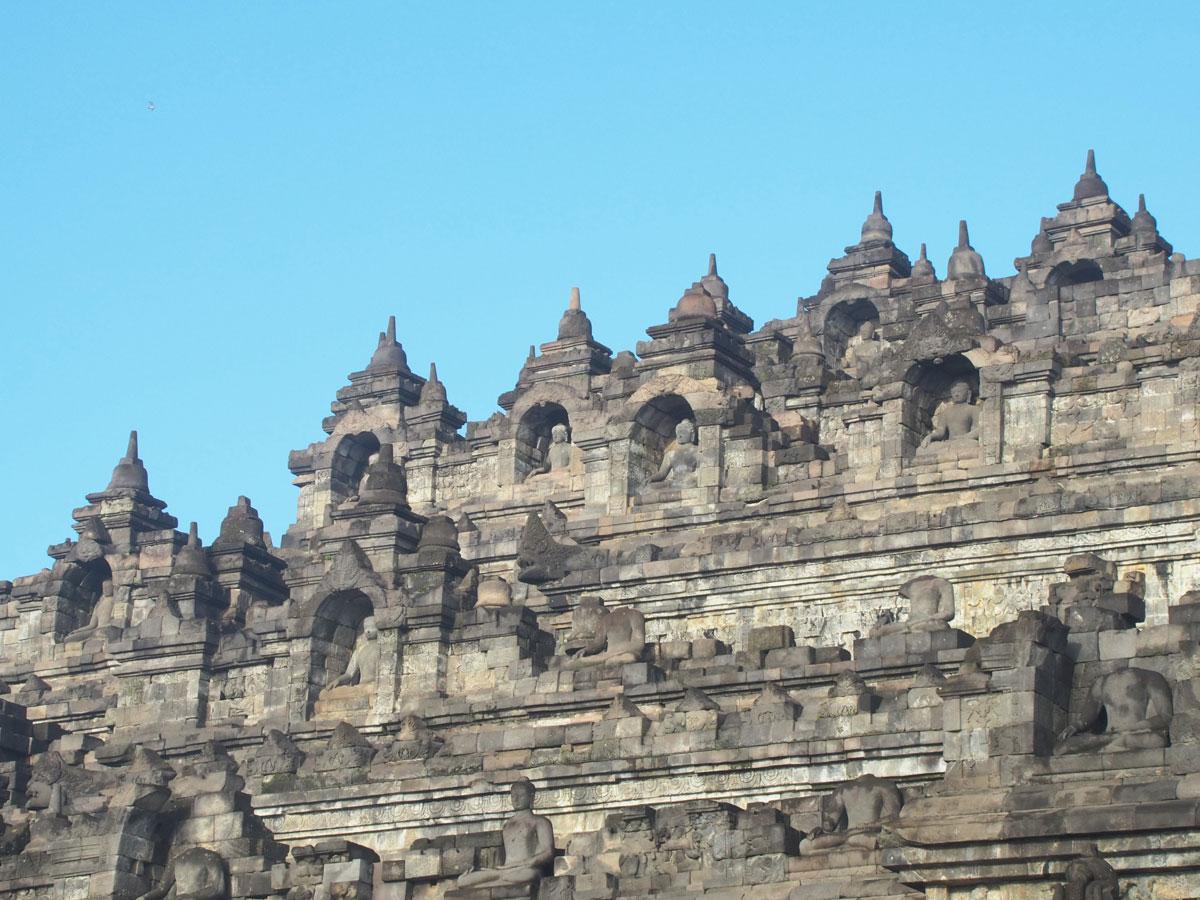 borobudur tempel java indonesien sonnenaufgang 21 - Borobodur Tempel in Java (Indonesien) zu Sonnenaufgang