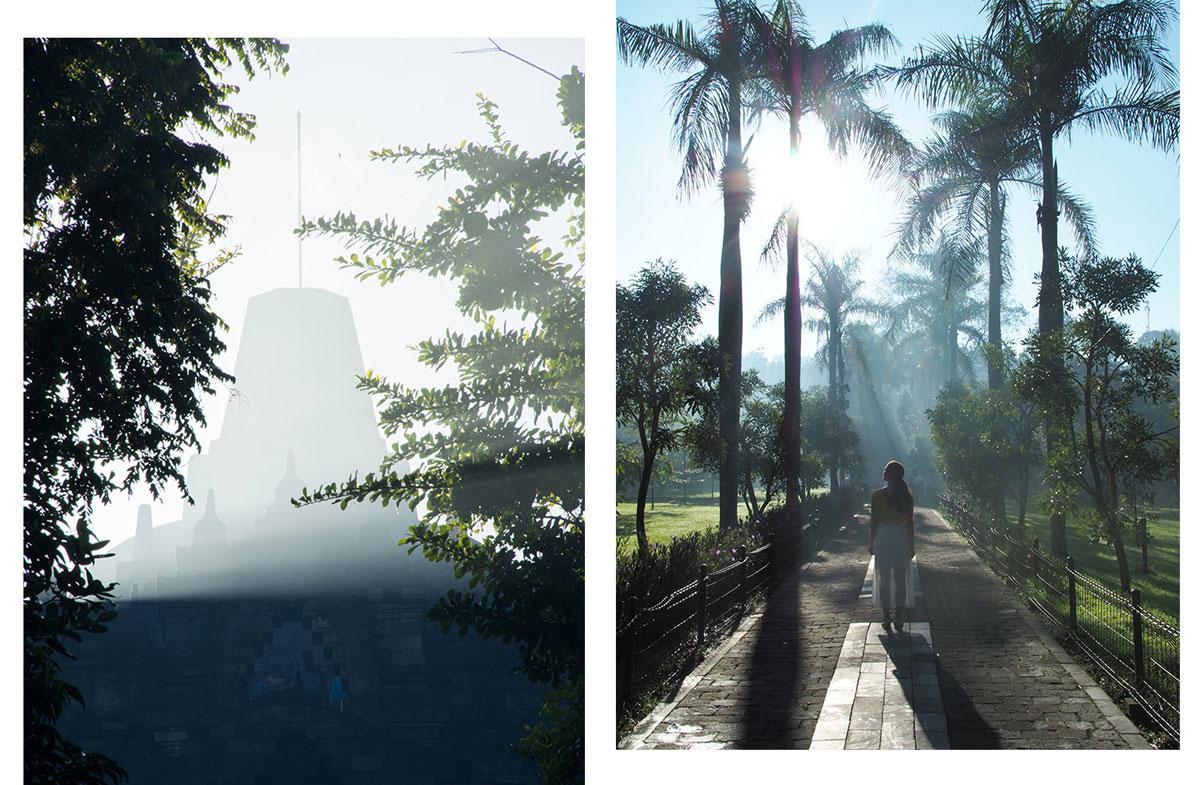 borobudur tempel java indonesien sonnenaufgang 3 - Borobodur Tempel in Java (Indonesien) zu Sonnenaufgang
