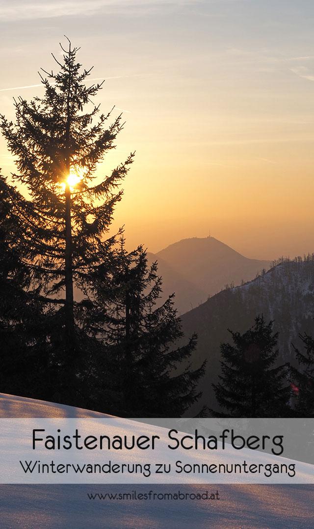 faistenauer schafberg pinterest2 - (Winter-) Wanderung zu Sonnenuntergang zum Faistenauer Schafberg