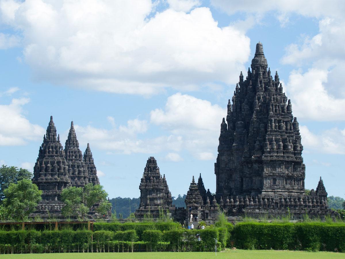 prambanan temple java indonesien 3 - Sehenswertes in und um Yogyakarta auf Java, Indonesien