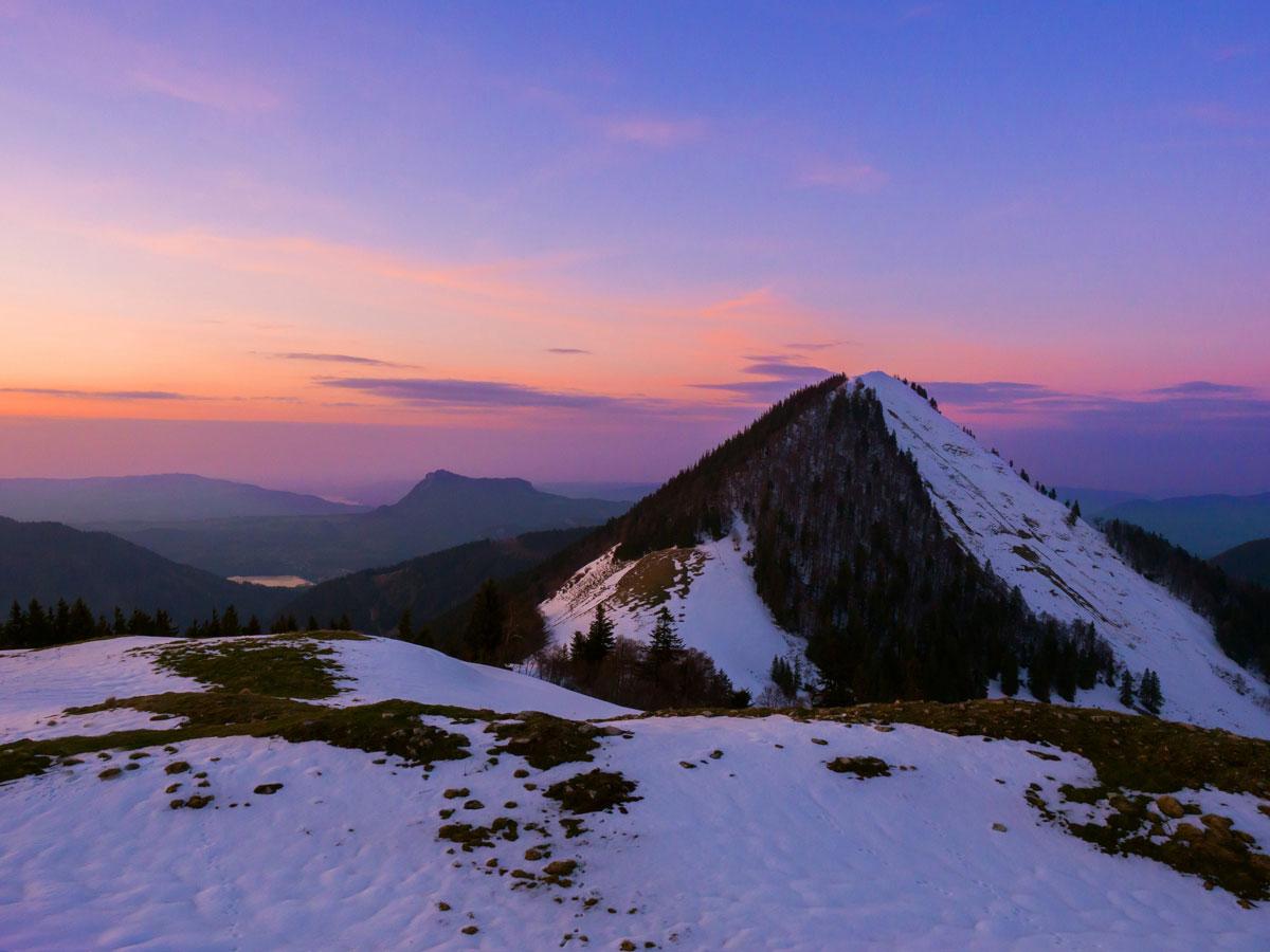 wandern faistenauer schafberg loibersbacher hoehe winter sonnenuntergang 20 - (Deutsch) Meine schönsten Reisefotos 2019 - Fotoparade