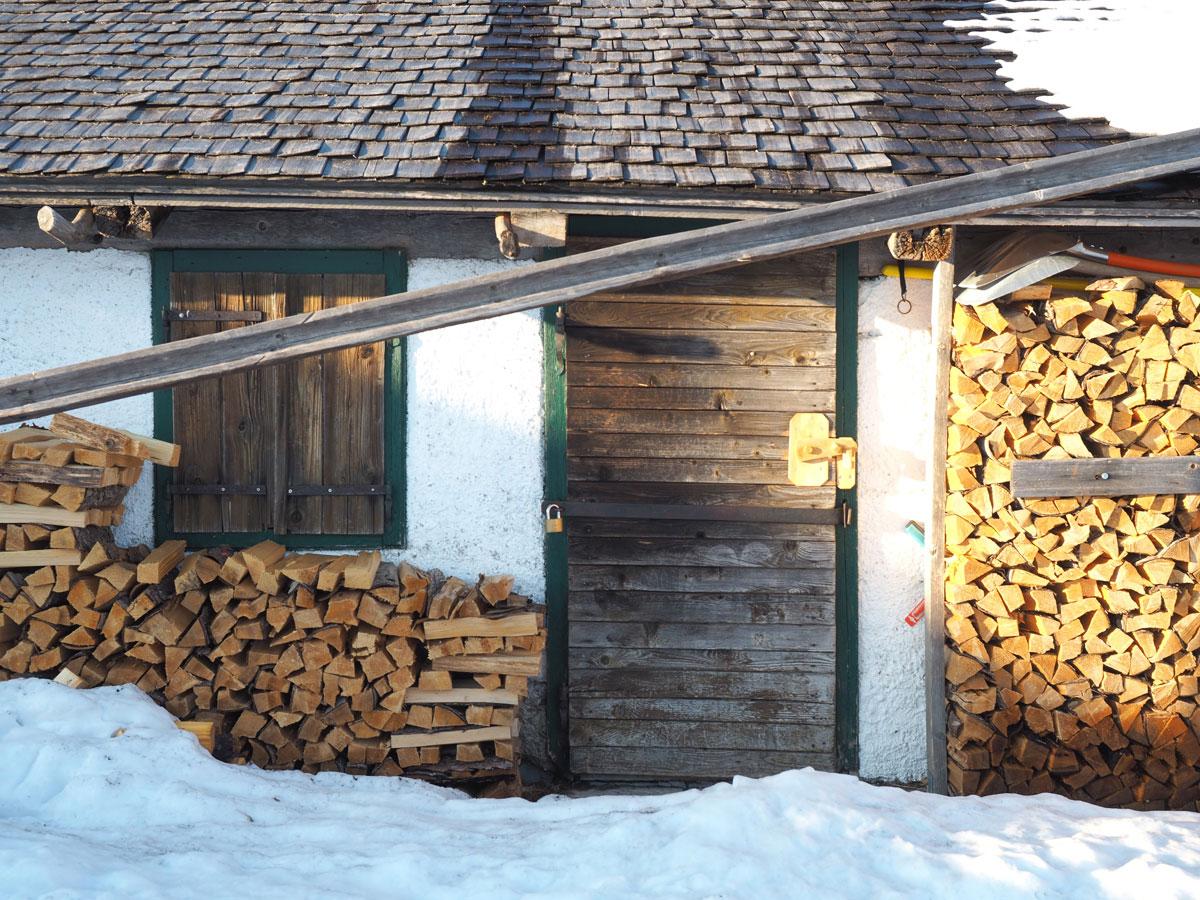 wandern faistenauer schafberg loibersbacher hoehe winter sonnenuntergang 6 - (Winter-) Wanderung zu Sonnenuntergang zum Faistenauer Schafberg