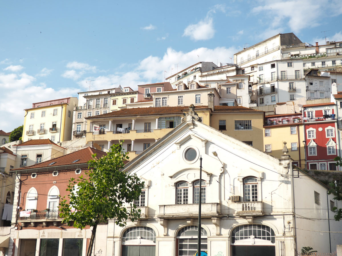 Stadt Coimbra Portugal