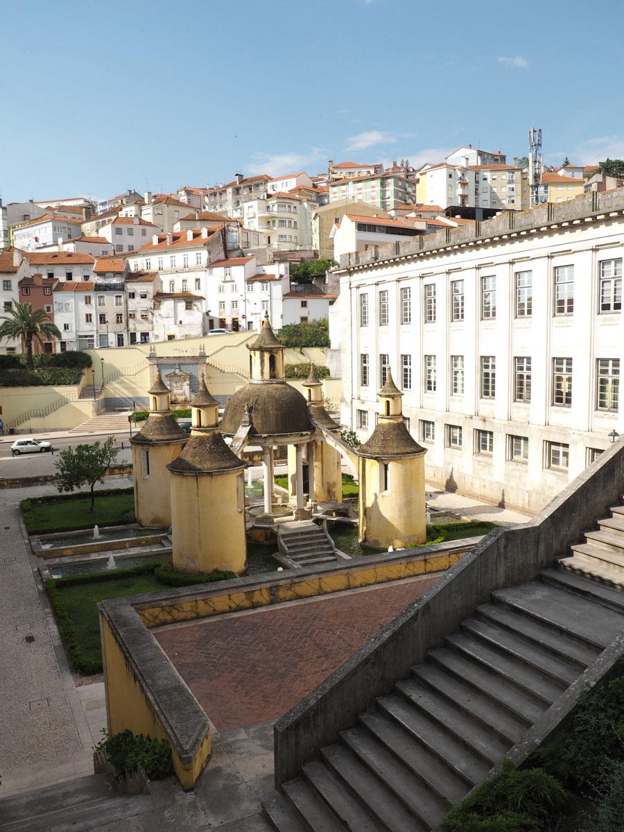 Hinterhof vom Kloster in Coimbra