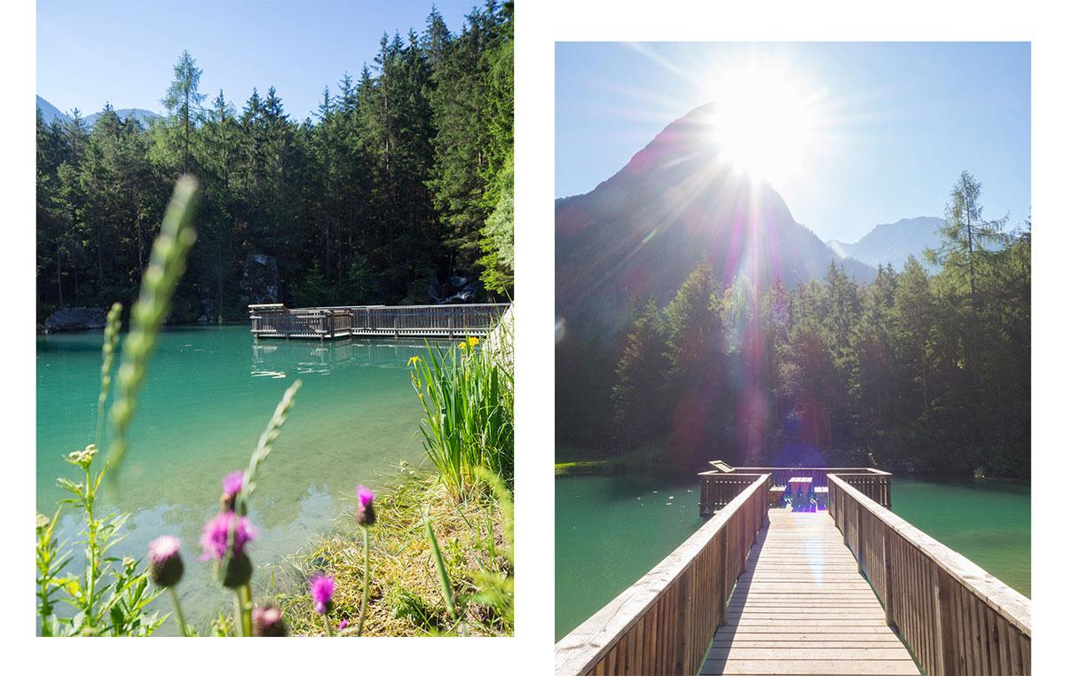 Habicher See im Ötztal, Tirol