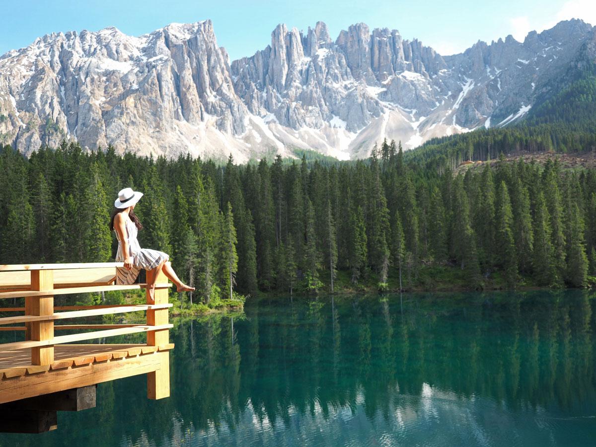 karersee dolomiten suedtirol 1 - Highlights in den Südtiroler Dolomiten
