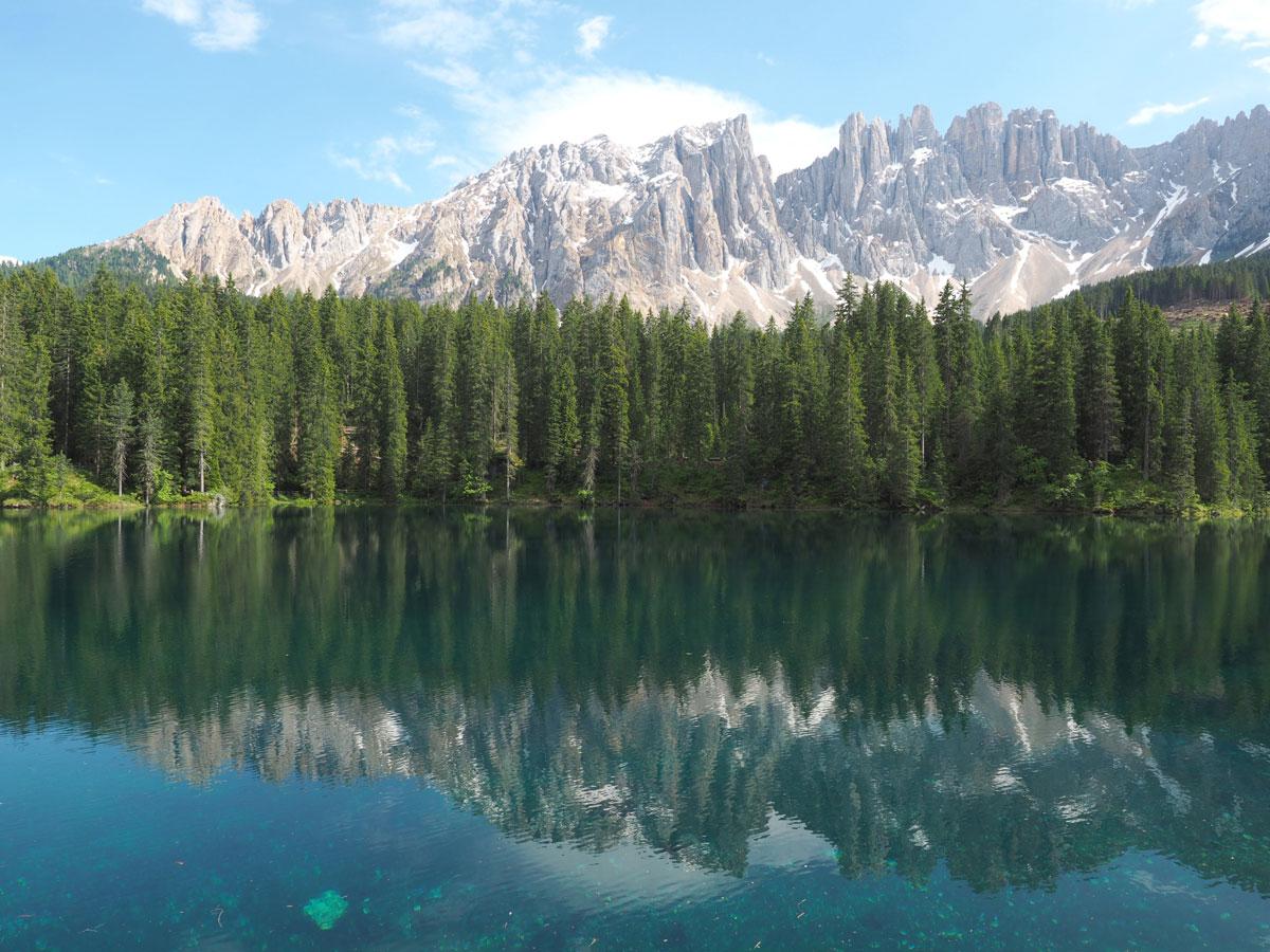 karersee dolomiten suedtirol 2 - Highlights in den Südtiroler Dolomiten