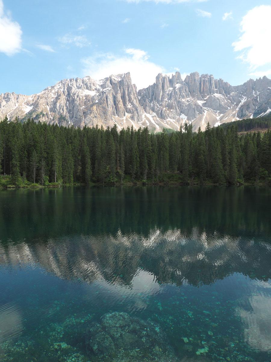 karersee dolomiten suedtirol 3 - Highlights in den Südtiroler Dolomiten