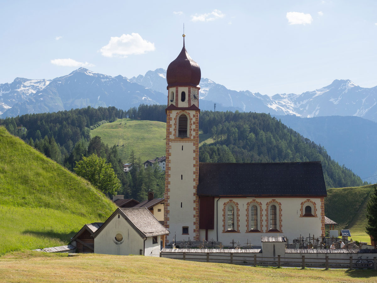 Kirche im Ötztal in Tirol