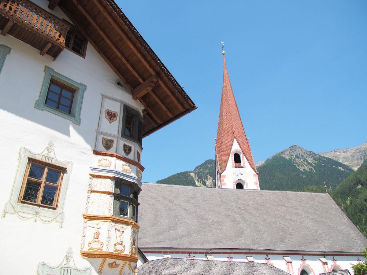 Kirche im Ötztal