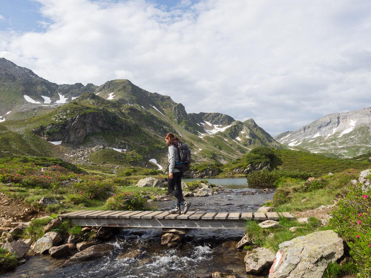 Wandern bei den Giglachseen