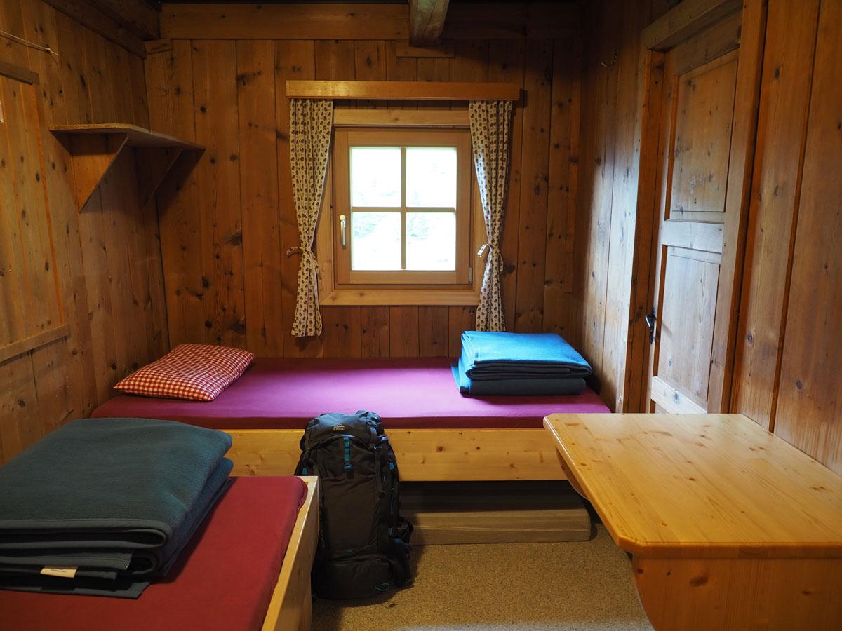 Übernachtung in der Gollinghütte in Schladming