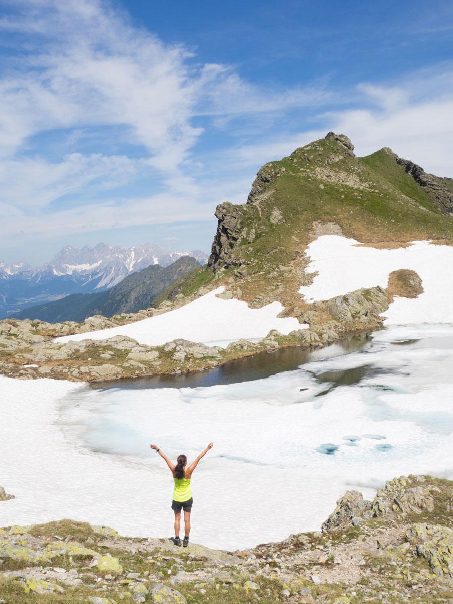 Wandern am Schladminger Tauern Höhenweg Klafferkessel